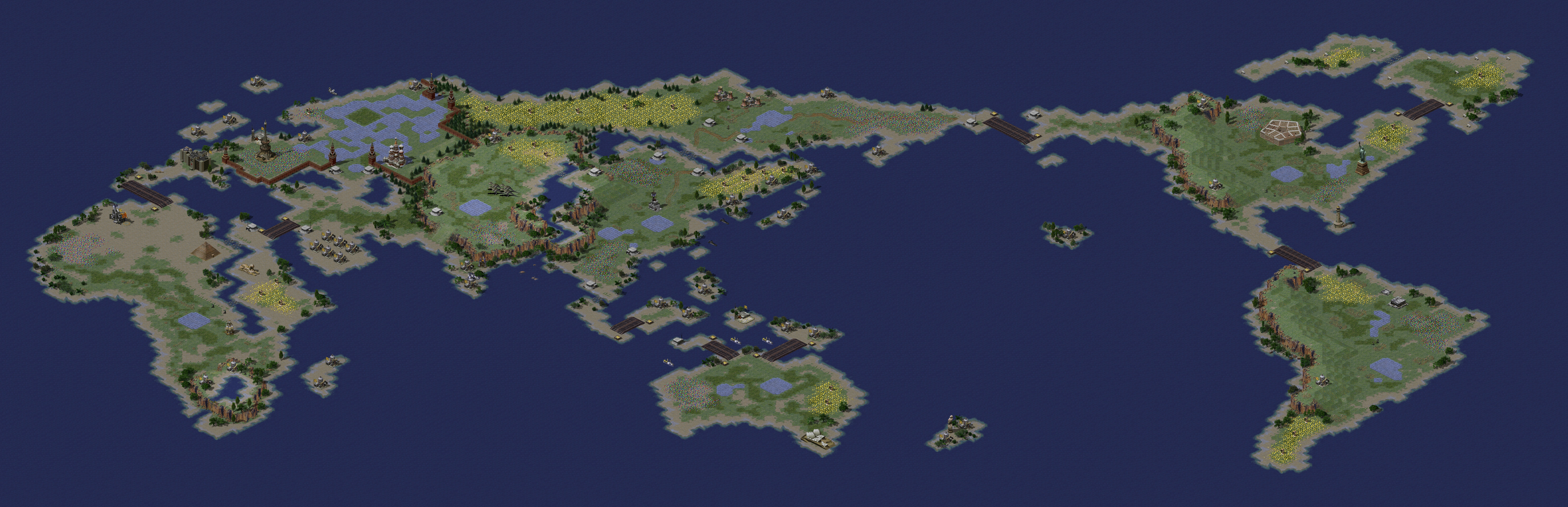 【心灵终结3.3地图】我们的世界-世界地图